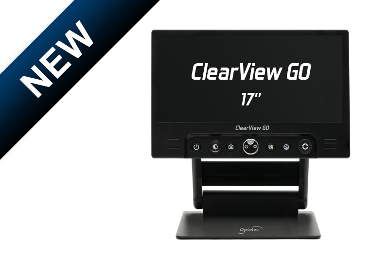 Optelec ClearView GO 17""
