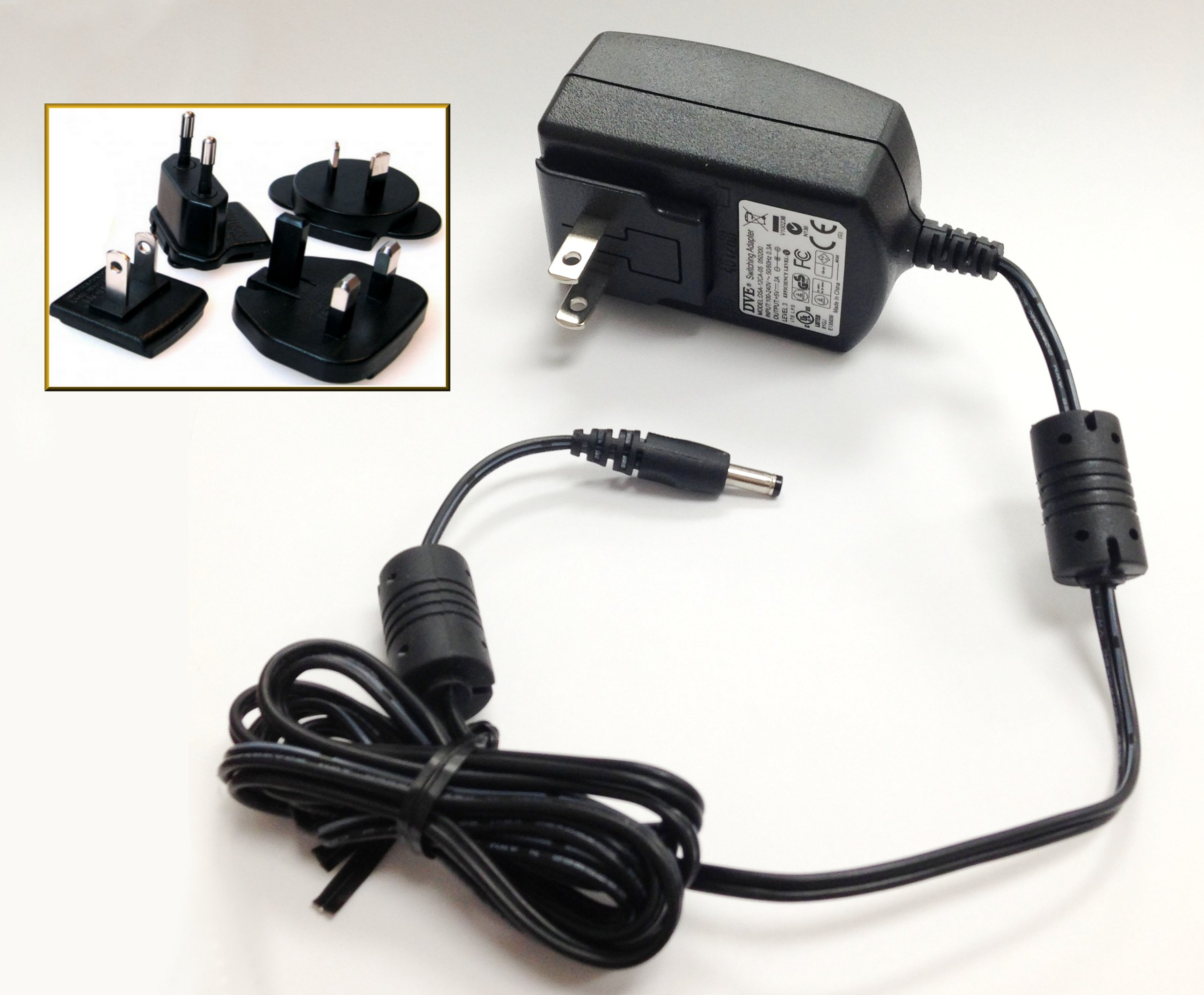 ClearNote+ Power Supply Wall Adapter 100-240V with US Plug