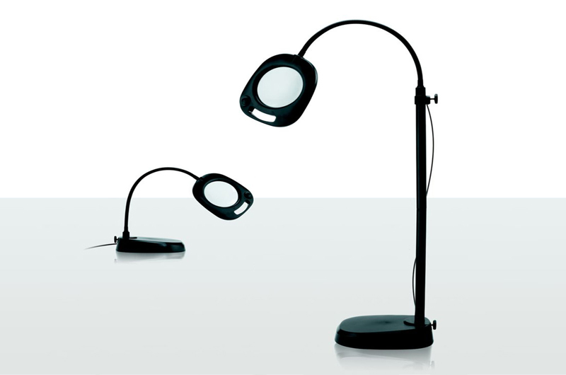 Daylight magnifying convertible table and floor lamp optelec us daylight magnifying convertible table and floor lamp aloadofball