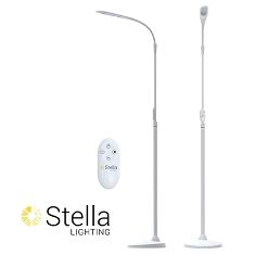 Stella Sky Two Floor Light, White