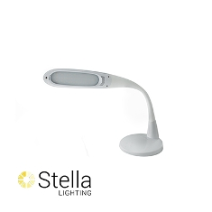 Stella Two Task Light, White